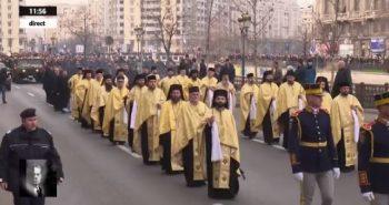 cortegiu gfunerar 350x185 Funeraliile Regelui Mihai. Cadre impresionante de la procesiunea din centrul Capitalei