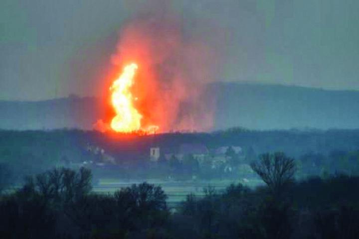 explozie Explozie la un terminal gazier din Austria