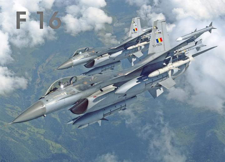 f 16 Piloti romani declanseaza arme nucleare!