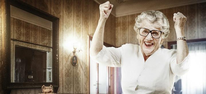 femei 1 La 85 de ani, după moartea soțului, femeile sunt fericite