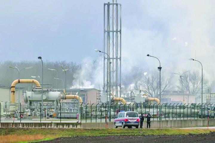 gaz1 Explozie la un terminal gazier din Austria