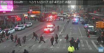 incid 350x180 Explozie cu 4 raniti in Manhattan. Suspect pe mana politiei (VIDEO)
