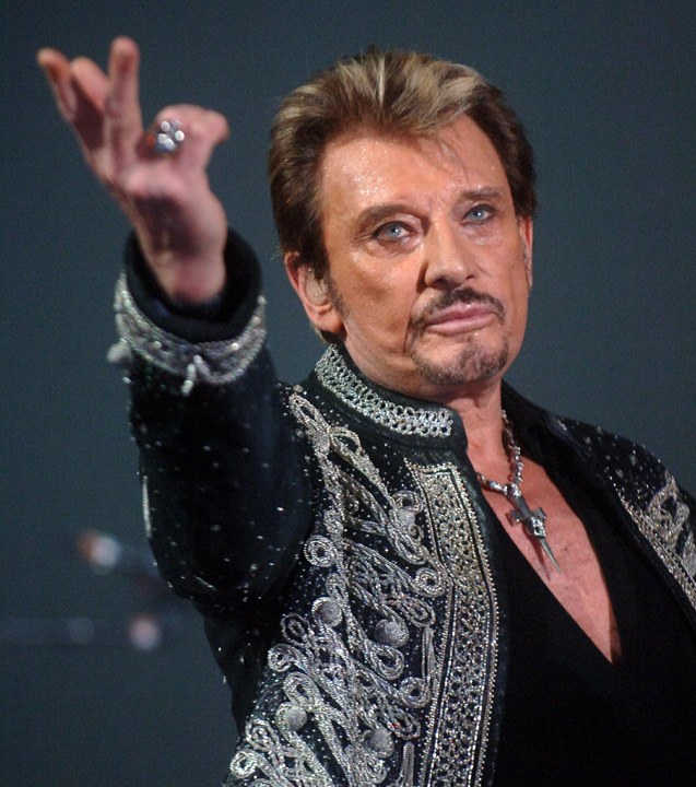 johnny Franta il plange pe Johnny Hallyday