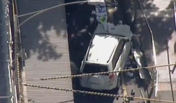 masina lovit 350x206 O masina a lovit mai multi pietoni, la Melbourne: 14 raniti, doua arestari