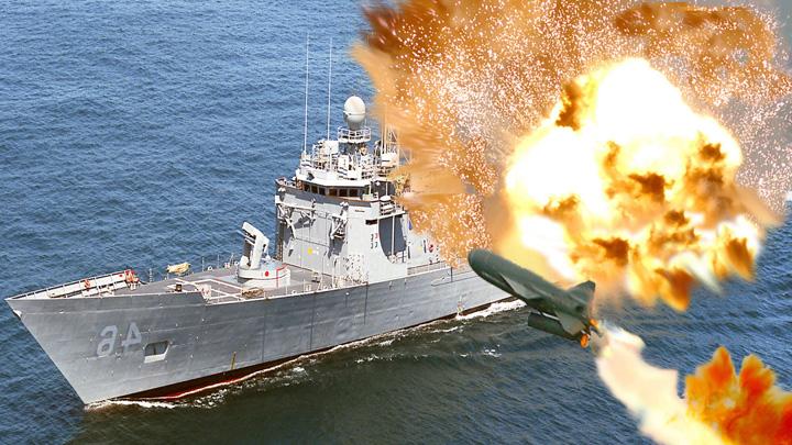 nava 2 SUA s au chinuit 12 ore sa scufunde o fregata