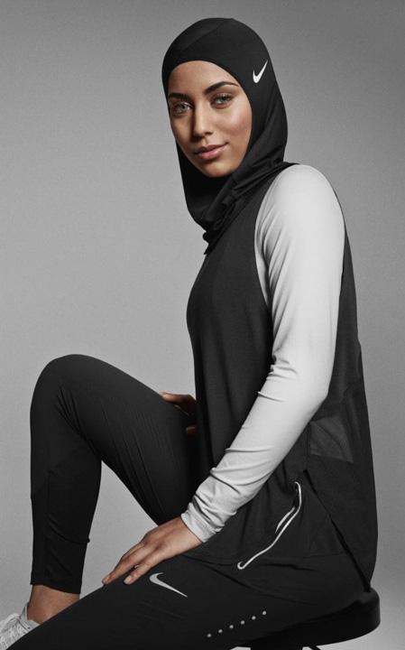 nike pro hijab Nike, primul val sport