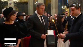 patr10 350x201 Slujba de inmormantare a Regelui Mihai, oficiata la Patriarhie, s a incheiat