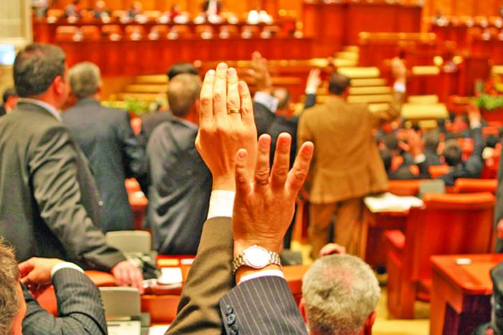 plen Parlamentarii l au umplut si ieri de respect pe rege