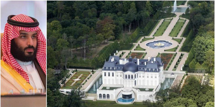 print Ce palat a cumparat mostenitorul saudit