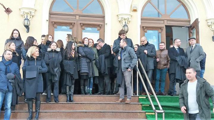 protest 1 Justiția lui Iordache scoate magistrații în stradă