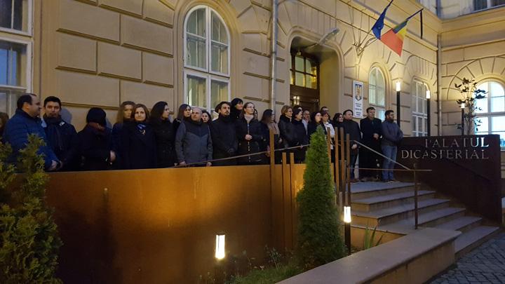 protest procurori magistrati 1 Magistratii, buni de plata