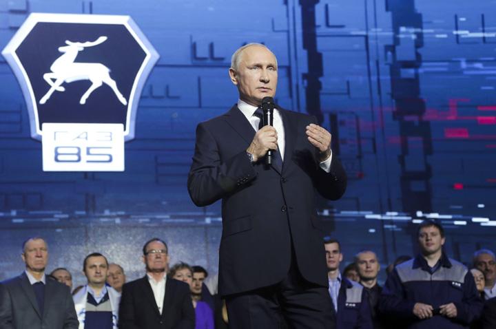 putin 5 Putin, cronica unei victorii anuntate