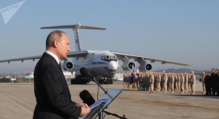 putin mare Putin, pe sest in Siria: Retragerea!