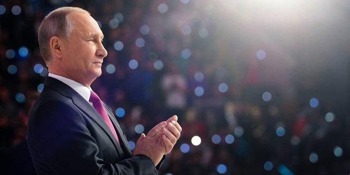 putin Putin, la al patrulea mandat