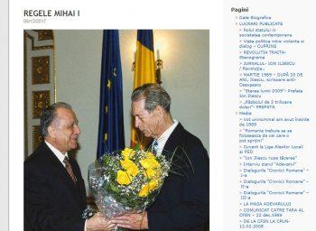 rege1 350x256 Ion Iliescu, mesaj la moartea Regelui Mihai: Relatia noastra nu a fost simpla