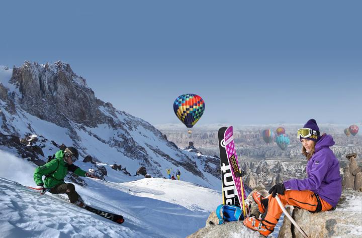 schi Casca, obligatorie in statiunile turcesti de schi