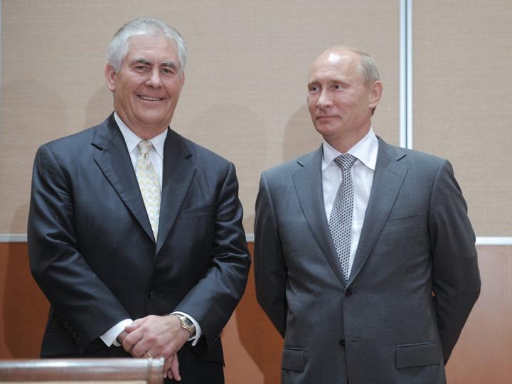 sua tillerson SUA plimba bau baul rus prin Europa