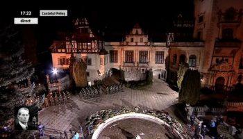 ultimul drum rege peles 350x200 Cortegiul funerar al Regelui Mihai, in drum catre Palatul Regal din Capitala