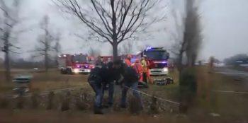 accid 350x174 Tren deraiat in apropiere de Milano: 3 morti si zeci de raniti/Telefoane utile pentru romani