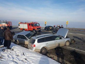 accident cluj 350x263 Cinci raniti, in urma unui accident ce a avut loc in Cluj