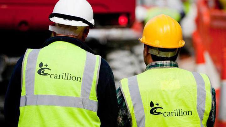 carillion 1 1 Romanii,  afectati de falimentul anului din Marea Britanie