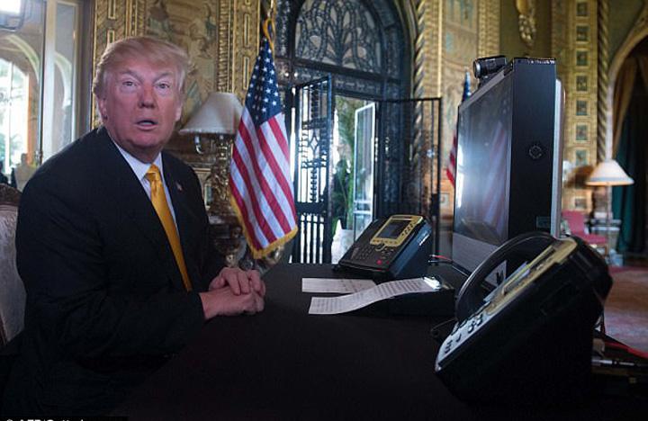 caviar Trump La restaurantul lui Trump, caviarul se serveste in lingurite de plastic