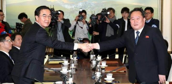 corei Cele doua Corei se impaca de dragul Olimpiadei