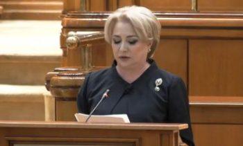 dancila 4 350x211 Dancila a prezentat lista ministrilor si programul de guvernare: Aceasta tara trebuie condusa de cei alesi, nu cei numiti