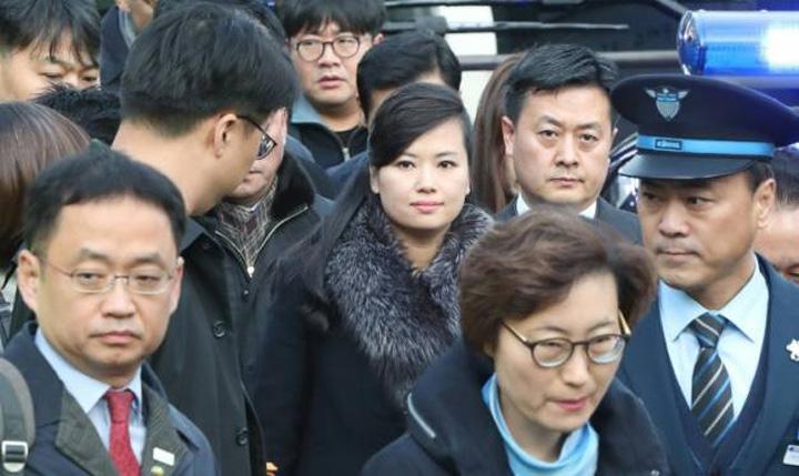 delegatie 1 JO 2018, o delegatie nord coreeana, la Seul
