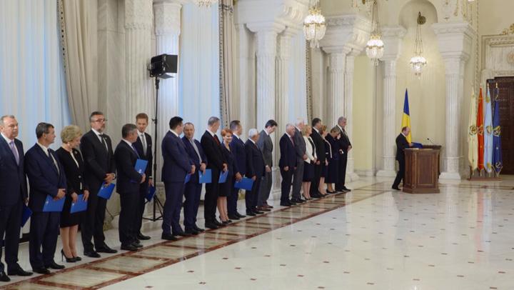 depunere juramant Batjocura fara margini a politicienilor