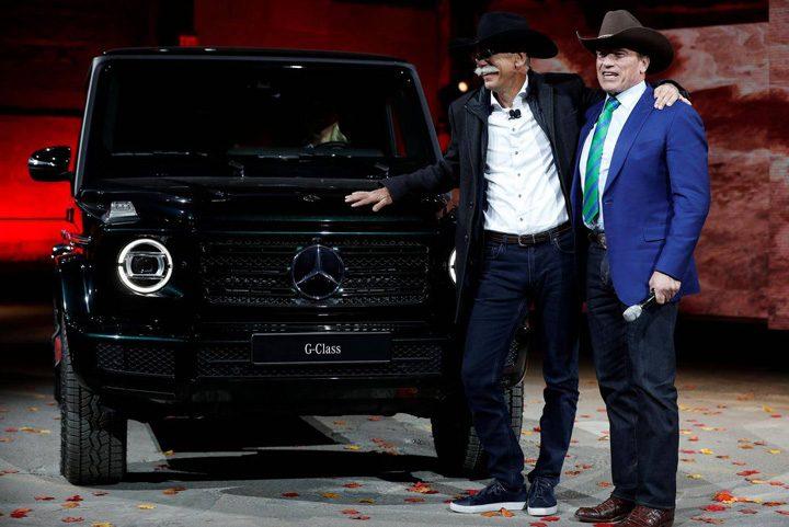 "detroit 1 720x481 ""Terminator"" a prezentat noul Mercedes G"