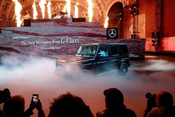 "detroit 2 720x482 ""Terminator"" a prezentat noul Mercedes G"