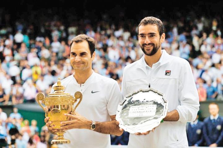 federer si Cilic Federer, al 20 lea Grand Slam