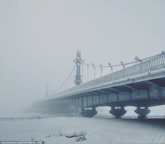 frig 2 573x500 Viata la minus 62 de grade