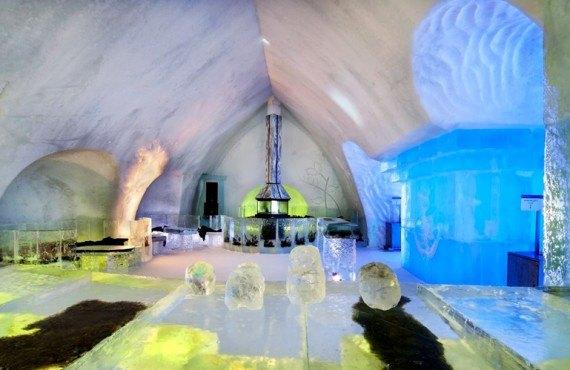 hotel glace bar 11684 Bizar: incendiu intr un hotel de gheata