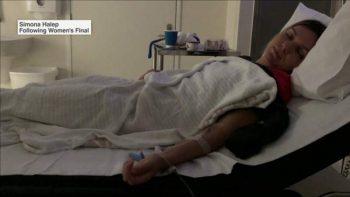 img 350x197 Halep a ajuns la spital dupa finala de la AO