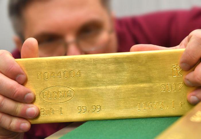 lingou7 Cum isi stocheaza Rusia aurul