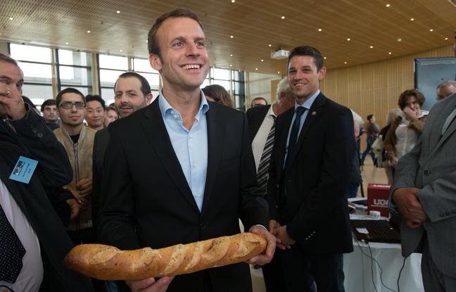 macron Macron vrea bagheta franceza in patrimoniul UNESCO