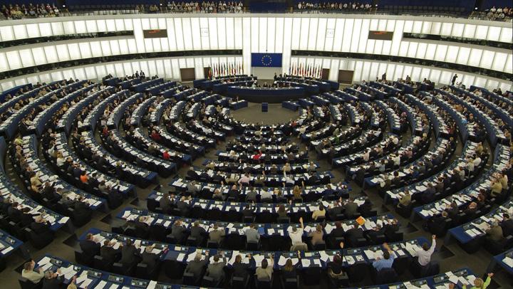 plen PE Europarlamentarii romani, decor la PE