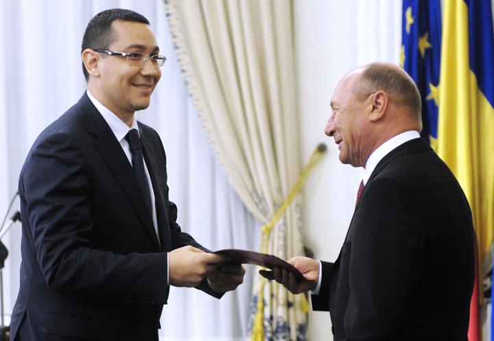 ponta basescu Basescu starneste serviciile secrete