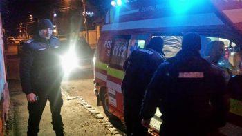 salvat 350x197 Barbat cazut intr o prapastie din Piatra Craiului, salvat de jandarmii brasoveni