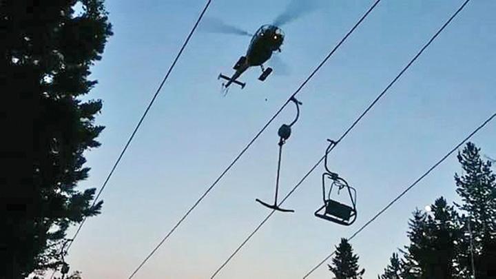 schiori 150 de schiori din Austria, salvati cu elicopterele
