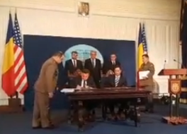semnat A fost semnat contractul vizand achizitia de transportoare blindate Piranha 5