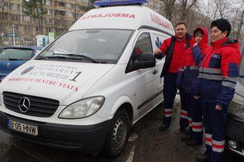 Ambulanta Sociala 1 350x233 Primaria Sectorului 1, solutii pentru persoanele fara adapost pe perioada gerului