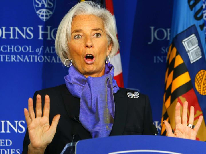 "Christine Lagarde. Lagarde, FMI: ""Batranii traiesc prea mult"""
