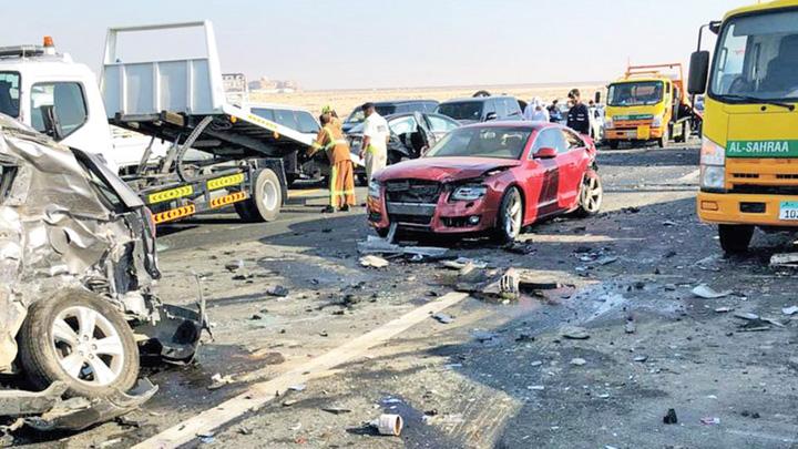 Dubai Crash 2 Carambol spectaculos in Dubai