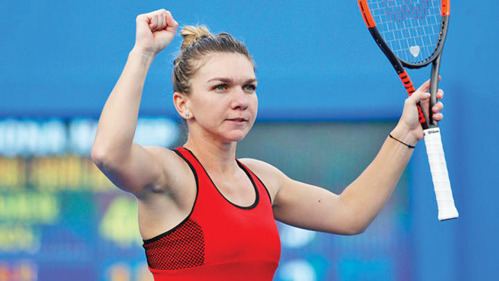 Halep Halep, curtata de Under Armour si New Balance