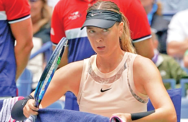 Sharapova Sharapova, nauca dupa meciul cu Niculescu