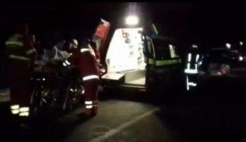 accid 1 350x202 Grav accident in Bistrita: un tanar de doar 19 ani a murit. Sase raniti, la spital