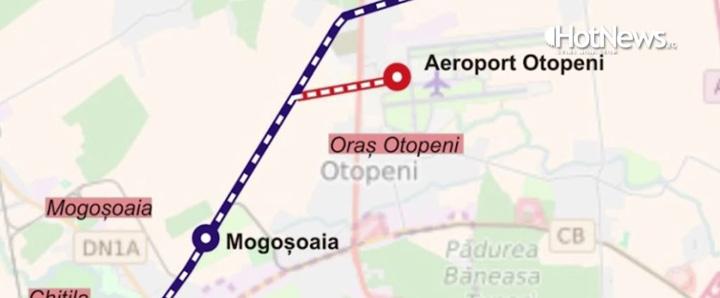 aeroport tren 2 4 ani pentru 2 km de cale ferata